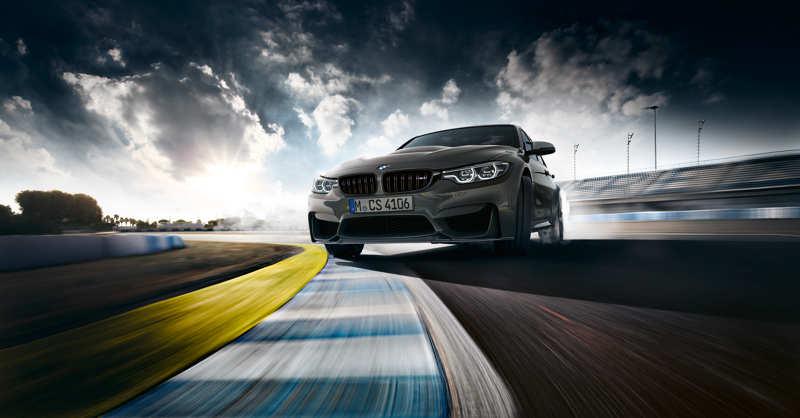 BMW M3 CS en plein powerslide
