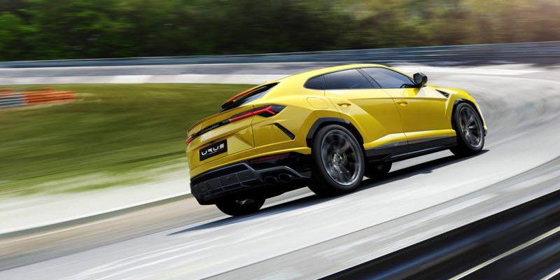 Lamborghini Urus au Nurburgring