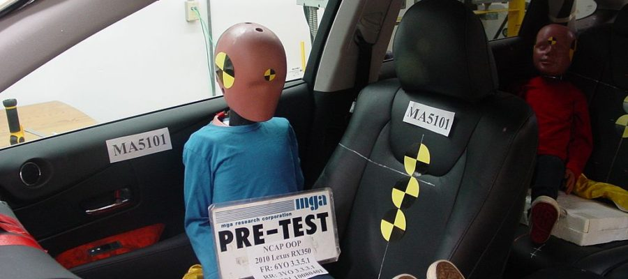 crash test sieges autos enfants