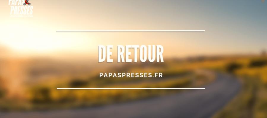 Le blog Papas Pressés est de retour