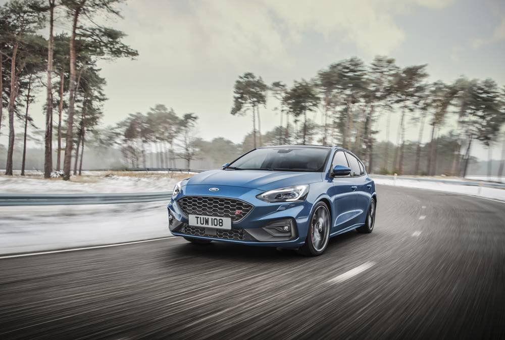 Face avant Ford Focus ST 2019