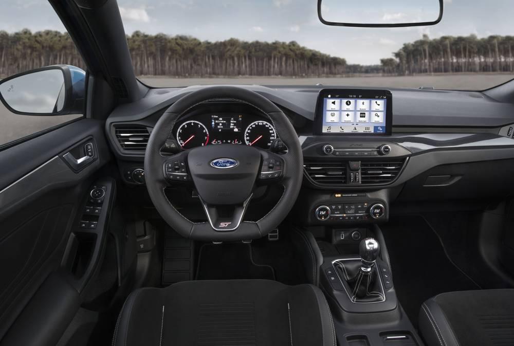 intérieur Ford Focus ST 2019