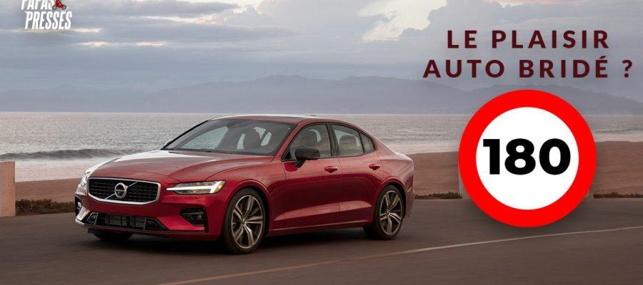 Volvo va brider ses auto à 180