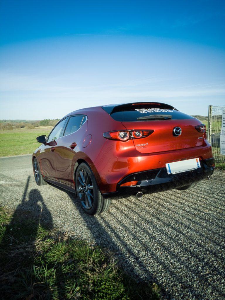 Mazda3 2019 soul red