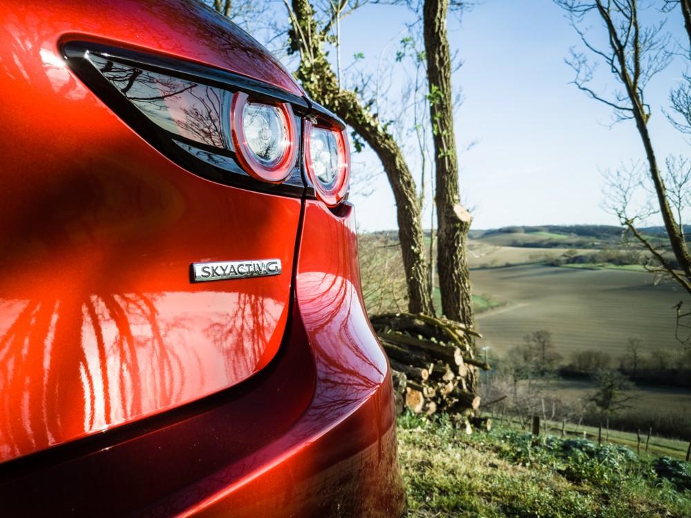 Mazda3 dans le gers