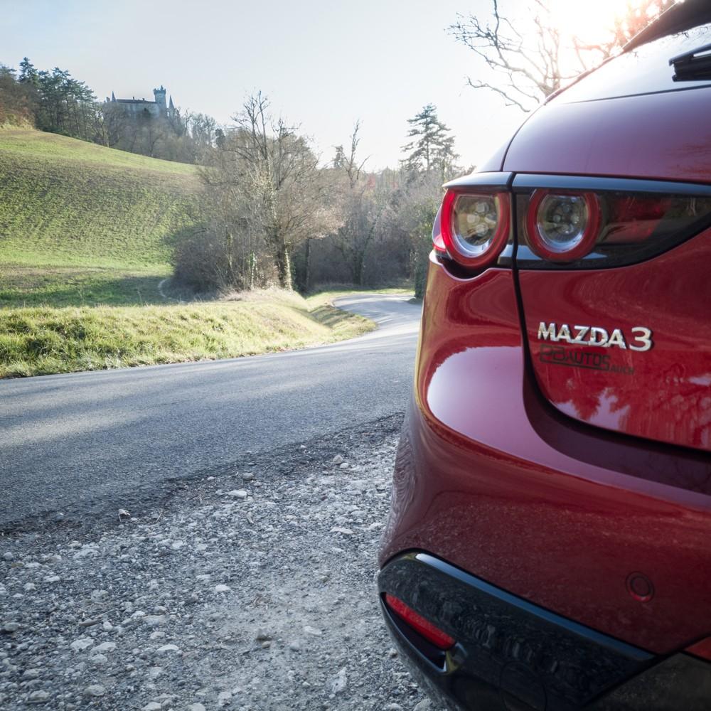 Nouvelle Mazda3 en concession
