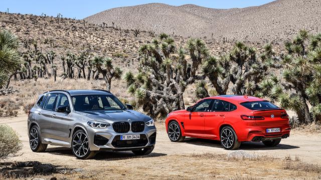 BMW X3 M et X4 M pour papa préssé