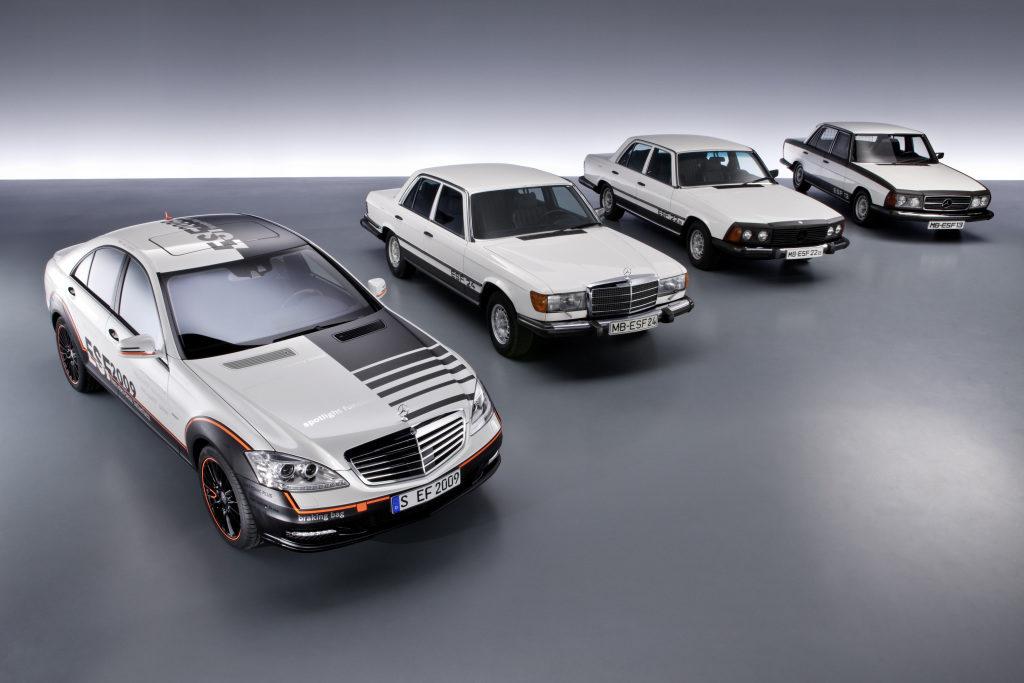 ESF Mercedes avec innovations sécurité routière
