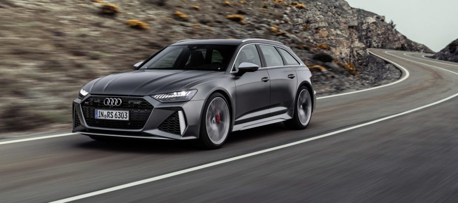 Audi RS6 le break d'un papa pressé
