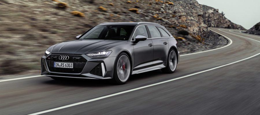 Audi RS6 le break d'un papa pressé