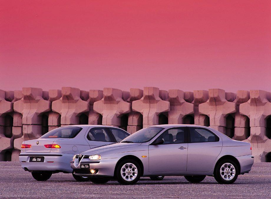 Sélection Voiture de papas pressés à moins de 10000 euros comme cette Alfa Romeo 156 V6