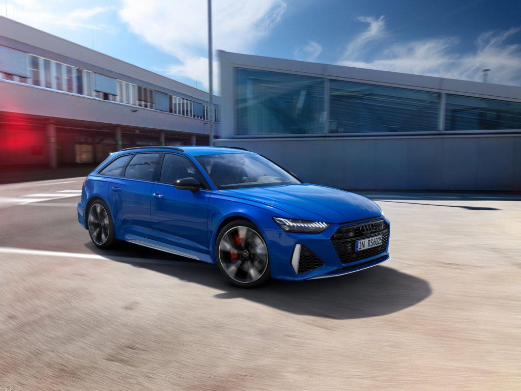 Audi RS 25 ans : Audi RS6 Avant en Bleu Nogaro