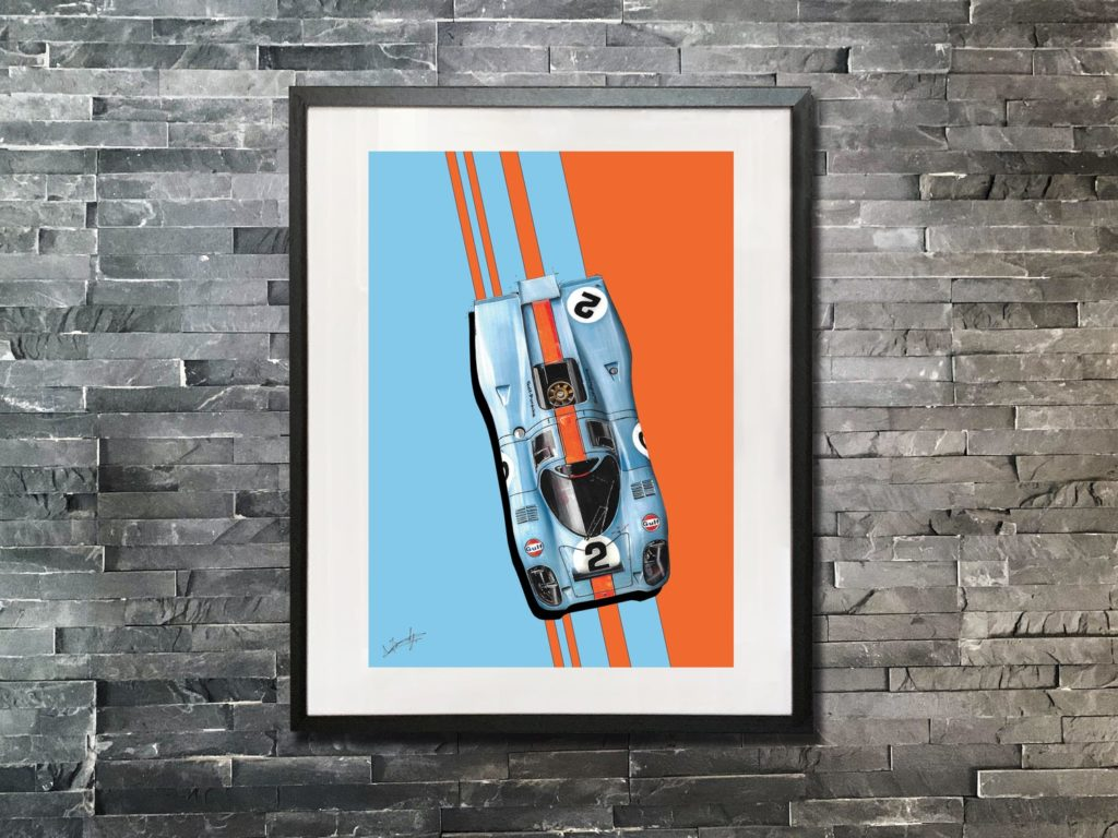 Poster pour papa pressé - Gasoline Maab