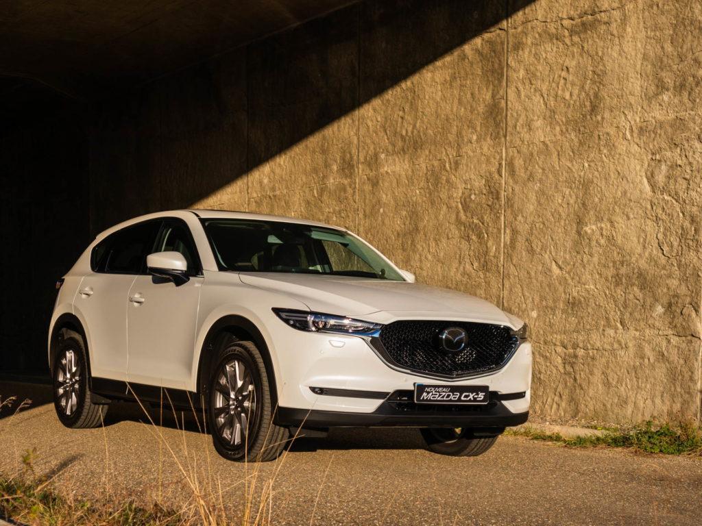Mazda CX-5 blanc