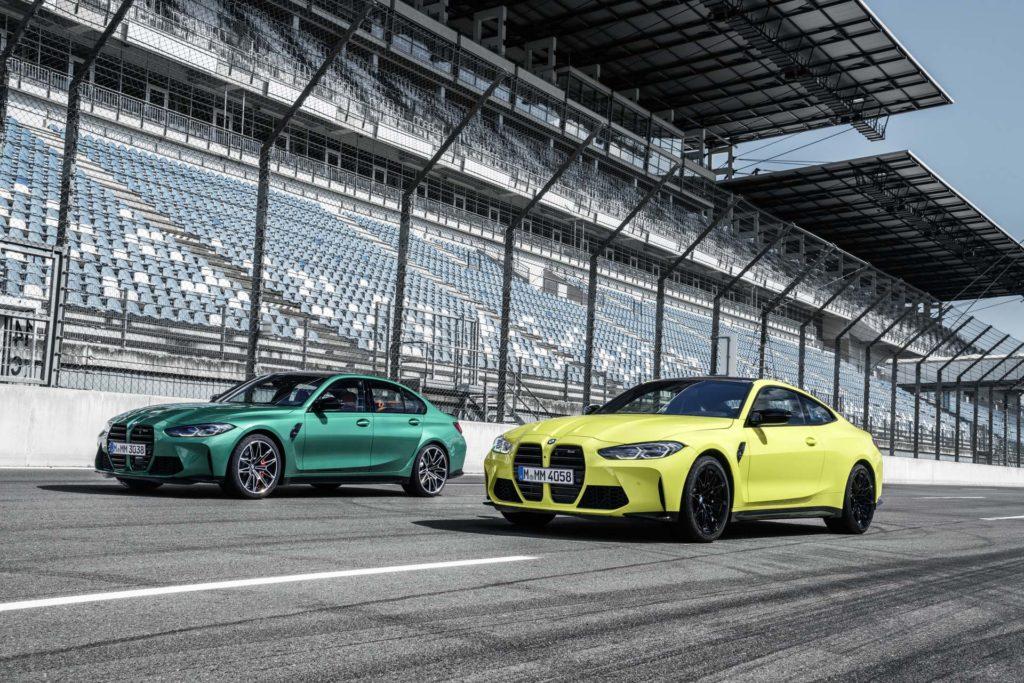 BMW M3 et BMW M4 sur circuit